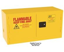 STACKABLE/COUNTER TOP SAFETY CABINETS