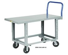 ERGONOMIC WORK-HEIGHT PLATFORM TRUCKS